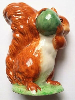 Vintage Beswick Beatrix Potter Figurine - Squirrel Nutkin - BP3b