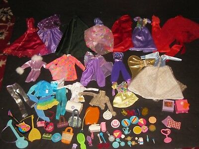 Barbie Clothes & Accessories Lot