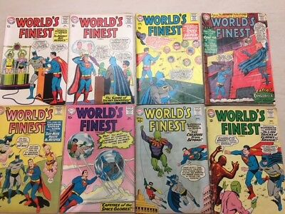 Worlds Finest 9pc Group: See Description DC Comics