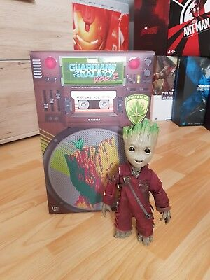 HOT TOYS - GROOT 1/1 - Guardians of the Galaxy VOL.2