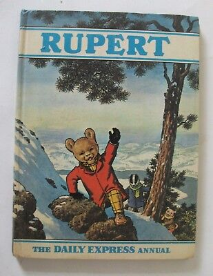 RUPERT ANNUAL 1970, not clipped, name not filled in, good spine. Bestall