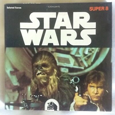 Rare Star Wars Super 8 Film 1977 B & W