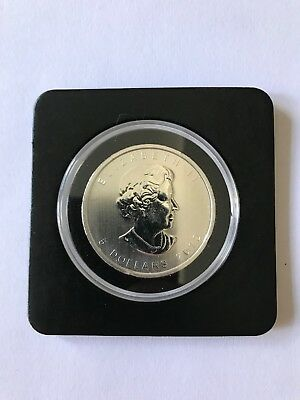 2012 1 Oz Canadian Silver Maple Leaf Coin Brilliant Uncirculated