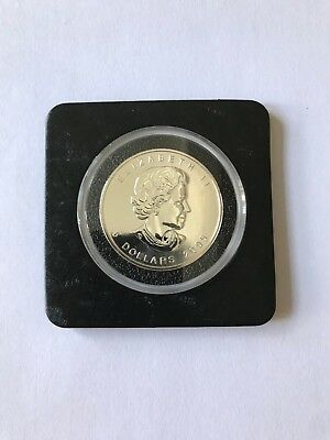 2005 1 Oz Canadian Silver Maple Leaf Coin Brilliant Uncirculated