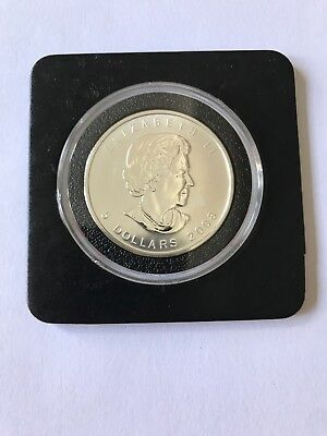 2008 1 Oz Canadian Silver Maple Leaf Coin Brilliant Uncirculated