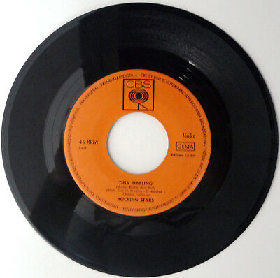 Rocking Stars Tina Darling (Shake Rattle And Roll) / Blues Stay Away From me1965
