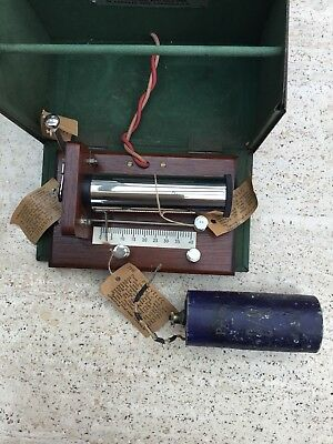 A LATE 19th CENTURY ELECTRIC SHOCK MACHINE