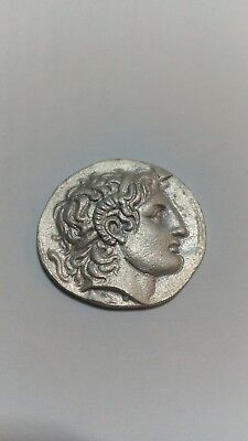 GREEK COINS ANCIANT REAL FACE of Alexander The Great III-ATHENS VICTORY.330BC.