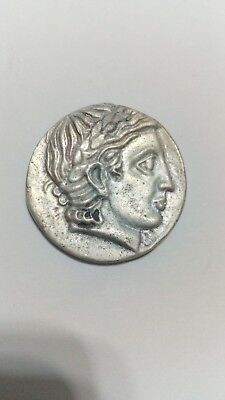 GREEK COINS ANCIANT FATHER of Alexander The Great III-FILIPPOS.330BC.SILVER.