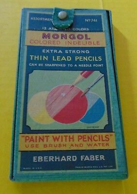 Mongol Paint with Pencils 1934 J.L. Hudson Advertising & Articles Queen Eunice