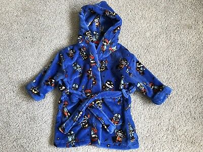 Next Boys Dressing Gown Age 9-12 Months