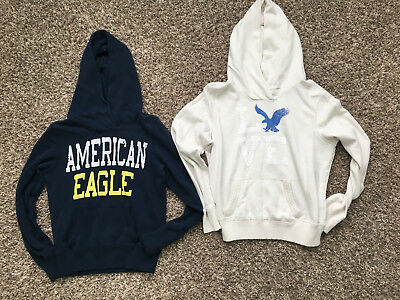 2 womens american eagle hoodies size medium