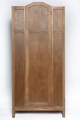 Art Deco Wardrobe - Oak