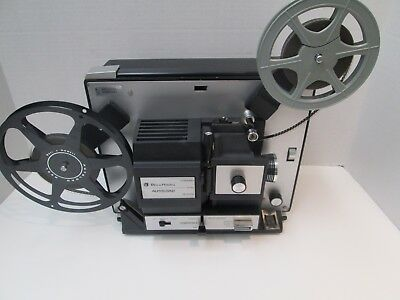 Bell & Howell 471A Dual 8mm (Reg 8mm / Super 8mm)  Movie Projector - New Belt!