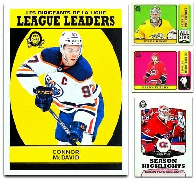 2018-19 OPC RETRO & UPDATES **** PICK YOUR CARD **** From The Set - [251-600]