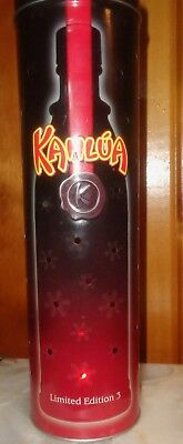 2004 Limited Edition 3: Kahlua Canister Metal Tin
