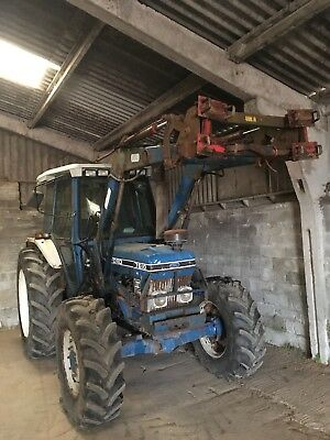 Ford 7610 Series 3 Tractor And Tanco Loader NO VAT