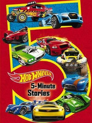 5-Minute Hot Wheels Stories Hardcover Book Free Shipping!