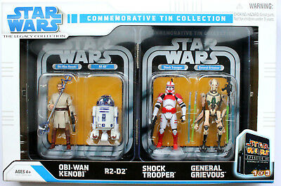 Star Wars The Legacy Collection Episode Iii Commemorativ Tin Collection Hasbro