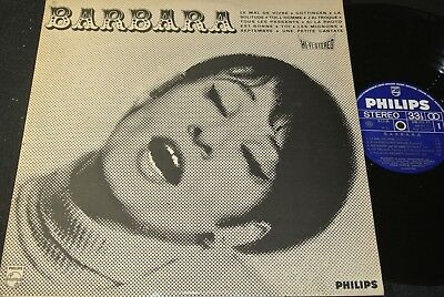 BARBARA No 2 / 60s French LP PHILIPS 840.575 BY