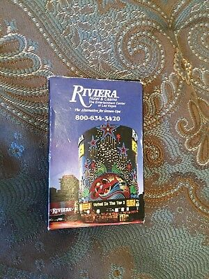 2 Decks Of 52 Cards From The Riviera Casino On Las Vegas (No Longer Exists)