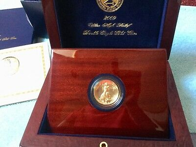 2009 USA 20 $ HOCHRELIEF Double Eagle Business Strike 1 oz Gold in PP !!!