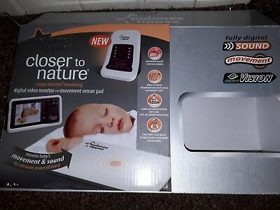 Tommie tippie  digital baby monitor with movement sensor pad, BOXED