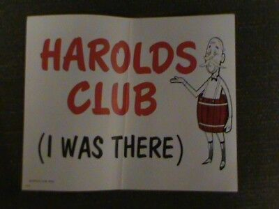 harolds club  sign  Vintage sign