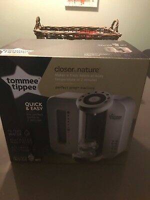 Tommee Tippee Perfect Prep Machine Brand New In Box Sealed Unopened