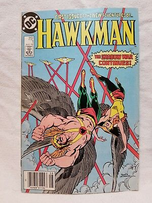 Hawkman #1 (Aug 1986 DC) Comic Book