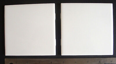 """Set of 10 tiles 4.25"""" Square Dye Sublimation Blank white Tiles for decorating"""