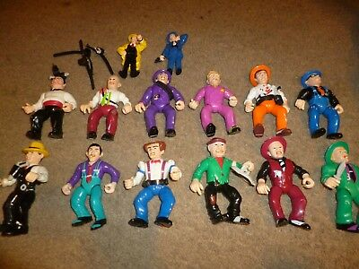 Lot of 1990's Playmates Dick Tracey Figures, Lips BIG BOY etc