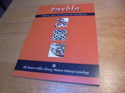 Pueblo Treasure From The Silverman Museum Illustrated Book DVD Pottery Weavings