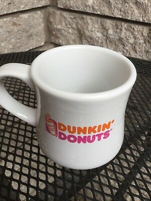 Vintage Retro* Dunkin Donuts * Heavy Diner Style Coffee Mug Cup