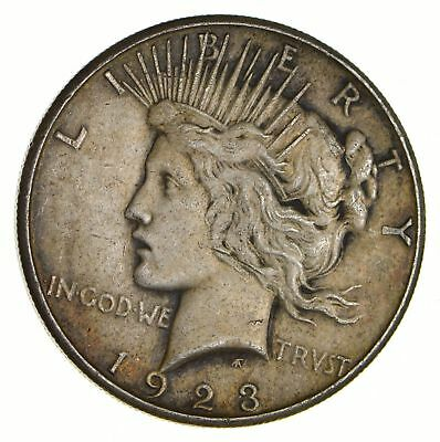 Early - 1923-S - Peace Silver Dollar - 90% US Coin *109
