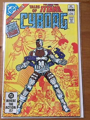 Tales of the New Teen Titans 1 featuring Cyborg VF+ DC Comics