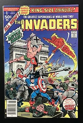 INVADERS ANNUAL #1 (1977) Beautiful High Grade! NM+