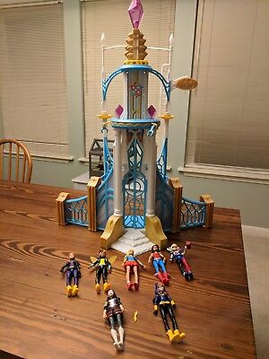 Dc super hero girls Lot With Playset