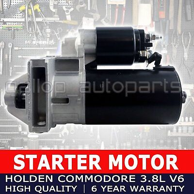 Starter Motor For Holden Commodore Vn Vr Vs Vt Vx Vy 3.8L V6 Auto Heavy Duty