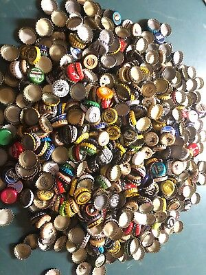 Lot 1000+ Clean Creased Beer Bottle Caps Domestic, Import, IPA Many Local Va