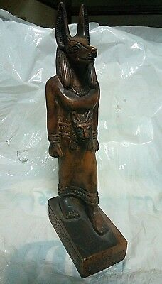 ANCIENT EGYPTIAN ANTIQUE ANUBIS Statue Stone 1750-1500 BC