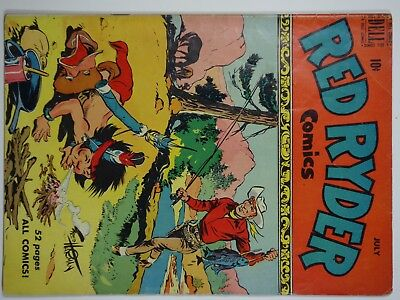 Red Ryder Comics #63 (July 1950, Dell) Fred Harman