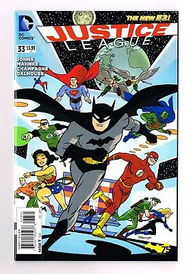 JUSTICE LEAGUE #33 Darwyn Cooke Batman 75th Variant Jessica Cruz Doom Patrol NM
