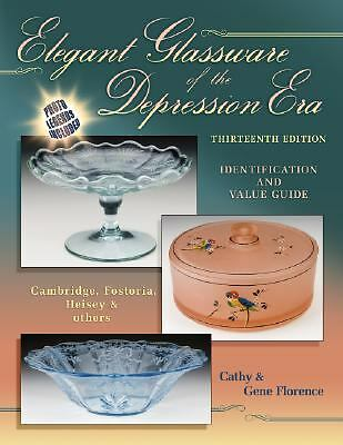 NEW Elegant Glassware Depression Price Guide Collector's Book Last One Printed