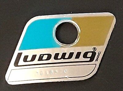 Ludwig Badge B/O 1979-80,s excellent condition  # 3016570