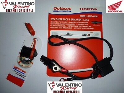 Cavetto Connettore Per Carica Batterie Caricabatteria Optimate 3+ 4 5 6 By Honda