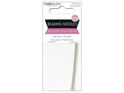 Craft Medley Soft Flexible Fine Point Beading Needles