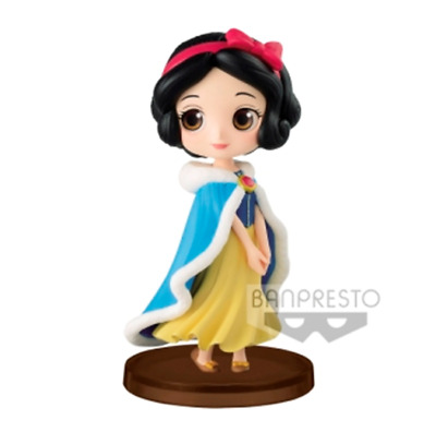 Banpresto DISNEY CHARACTERS Q POSKET PETIT-WINTER COSTUME-(B:SNOW WHITE)