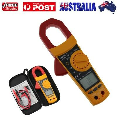Auto Digital LCD Disaplay Clamp AC/DC Multimeter Amp Volt Meter Resistance Teste