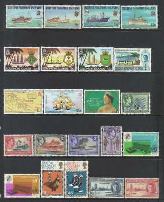 British Solomon Islands Mainly Mnh Selection